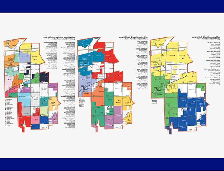 Indian Prairie District 204 Map